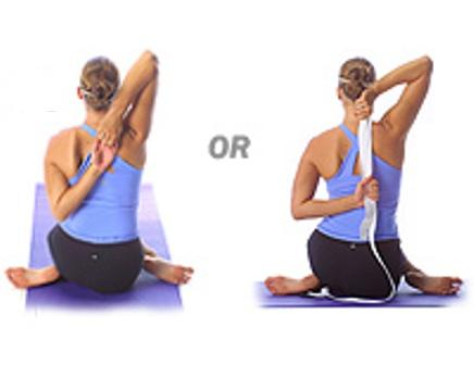 Stretches You Can Do With a Strap or Towel
